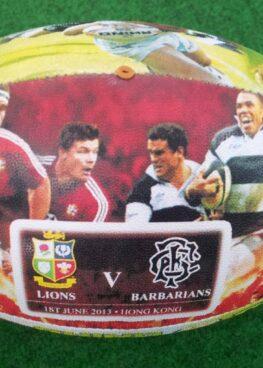 balon rugby 3d