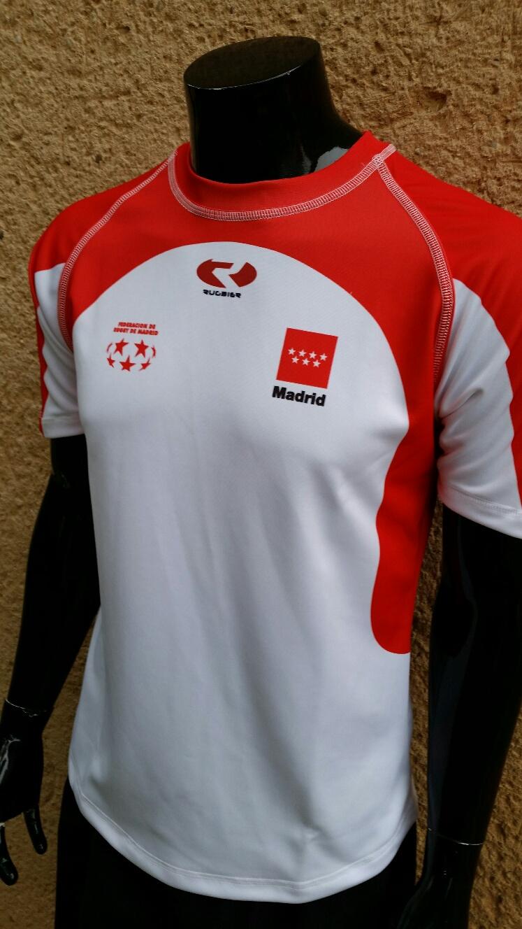 0971ca5aa Camiseta rugby - Federación de Madrid