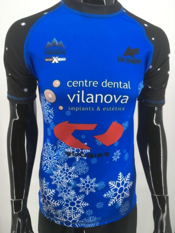 TORNEO NIEVE LES ANGLES-camiseta rugby