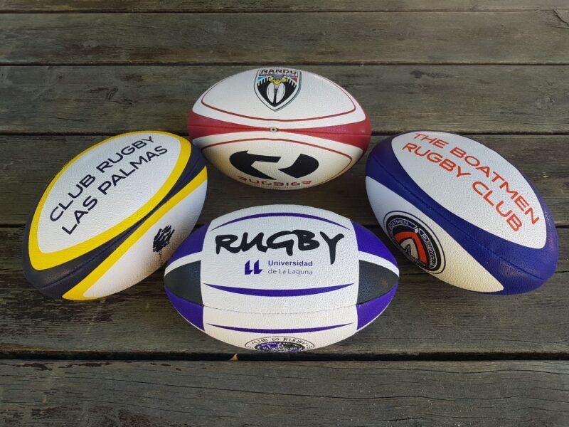FEDERACION CANARIA-balones rugby