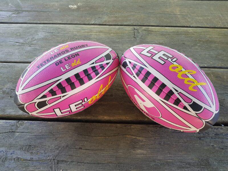 VETERANOS LEÓN-balones rugby