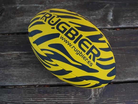 balon rugby-tiger yellow-talla 5-2