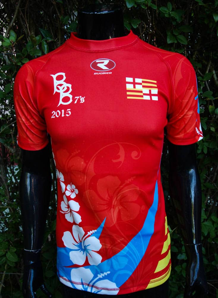 Barcelona Barbarians - Camiseta rugby-Elastic dry5 - Rugbier 04631cf7c7343