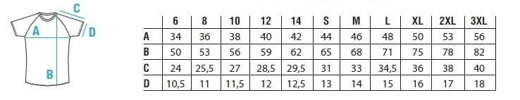 rugby tshirt - Elastic dry 5 y 10